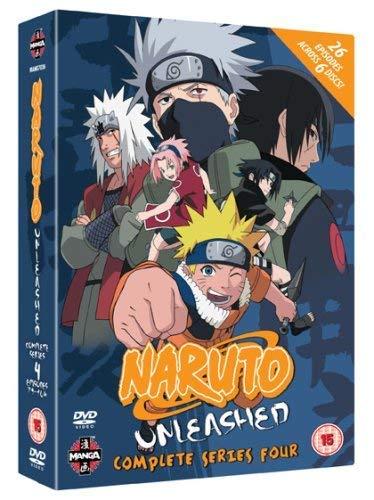 Naruto Unleashed - Complete Series 4 DVD Reino Unido: Amazon ...
