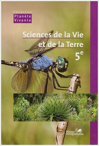 Lire Sciences et Vie de la Terre Cinquième epub, pdf