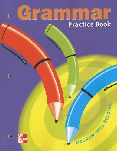 Grammar Practice grade 4 from Macmillan/Mcgraw-Hill School