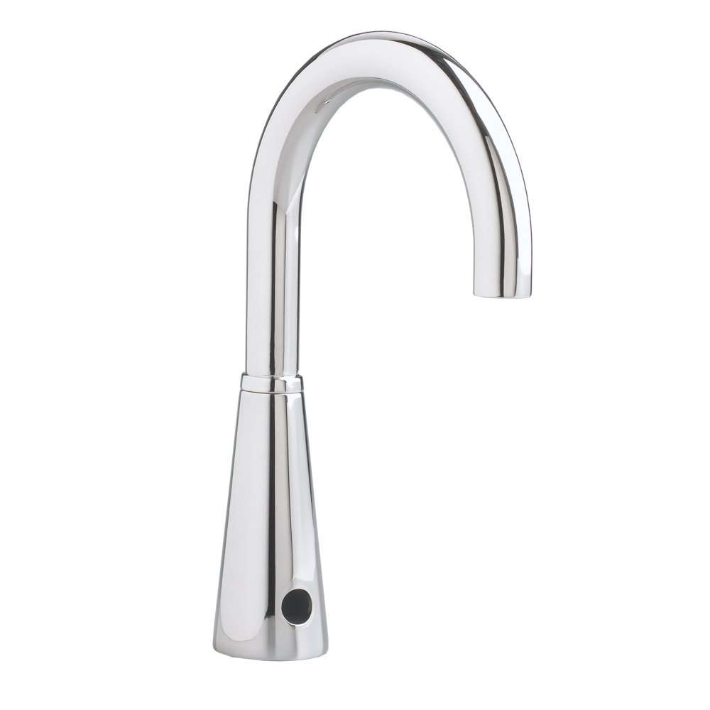 American Standard 6055.165.002 Selectronic DC Version Proximity 6 -Inch Gooseneck Faucet, Polished Chrome