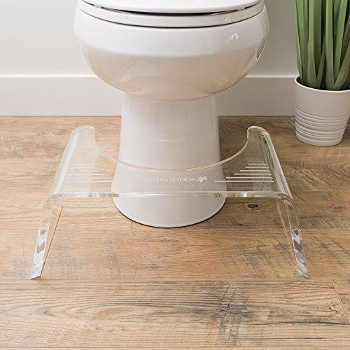 Squatty Potty Ghost Acrylic Toilet Stool, 7'' by Squatty Potty (Image #3)