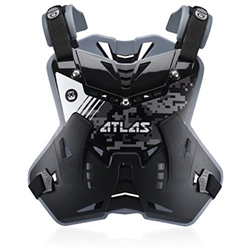 Atlas Defender Full Chest Protector Adult Digital Stealth by Atlas