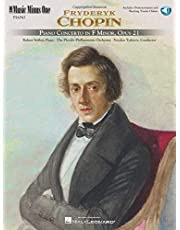Chopin - Concerto in F Minor, Op. 21: Music Minus One Piano