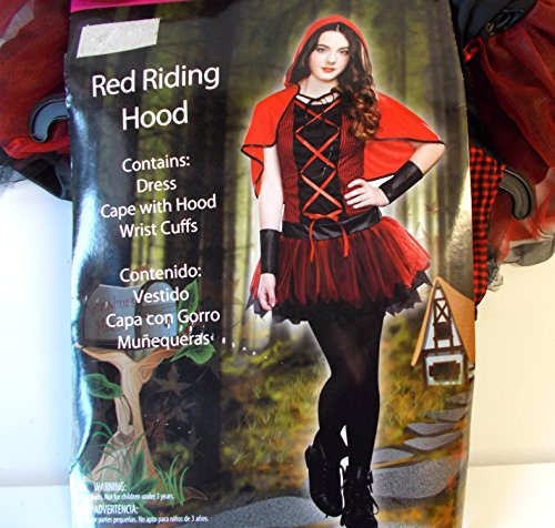 Totally Ghoul Red Riding Hood Child Teen Costume 9-11 NIP]()