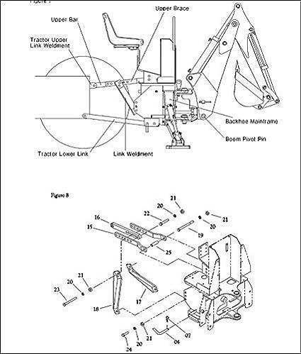 Amazon Com Backhoe Tractor Attachment Kubota Deere Bhm5600 10 Inch