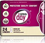 Cheap GENIAL DAY Feminine Liners withanion Strip 24 Piece, 0.02 Pound