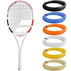 Babolat continues their racquet updates with the new Pure Strike 16x19 tennis racquet. With a fresh new, white and orange cosmetic look, the Pure Strike 16x19 is used on the ATP Tour by the youngest member of the top 10, Dominic Thiem....