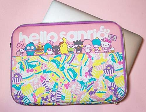 Hello Sanrio Pastel Lap Top Case Sleeve - Hello Kitty & Friends