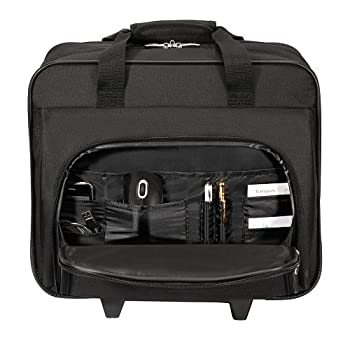 Targus Metro Rolling Case For 16-inch Laptop, Black (Tbr003us) 3