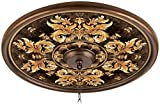 King8217;s Way 24'' Giclee Bronze Ceiling Medallion