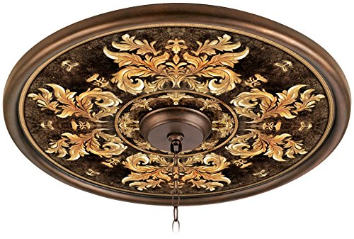 King8217;s Way 24' Giclee Bronze Ceiling Medallion