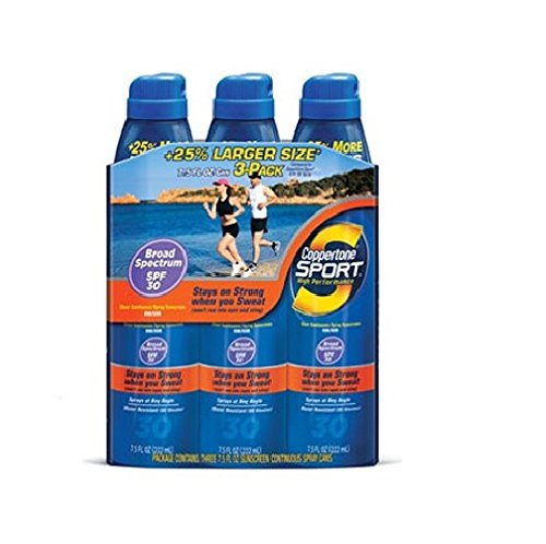 Coppertone Sport Performance Continuous Spray