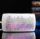 Hzhy Colorful Lantern Bluetooth Speaker Desktop Mini Creative Bluetooth Audio Subwoofer Suitable For Computers, Mobile Phones, Etc. (Color : Pearl White)