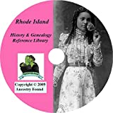 Rhode Island History & Genealogy on DVD - 71 Books on Ancestry, Records, Family
