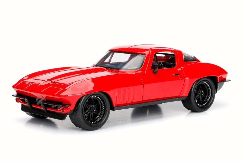 Jada 1:24 ディスプレイ - Fast & Furious 8 - Letty's 1966 Chevrolet Corvette 1Pc 98434 B06XQ77HX9