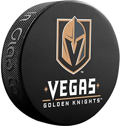 Nhl Souvenir Puck - Vegas Golden Knights Official Basic Souvenir Hockey Puck