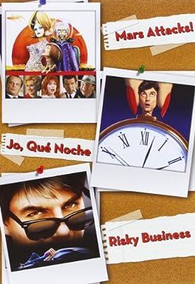 Pack: Mars Attacks! + ¡Jo, Qué Noche! + Risky Business DVD: Amazon.es: Glenn Close, Griffin Dunne, Jack Nicholson, Rebecca De Mornay, Rosanna Arquette, Tom Cruise, Tim Burton, Martin Scorsese, Paul Brickman, Glenn
