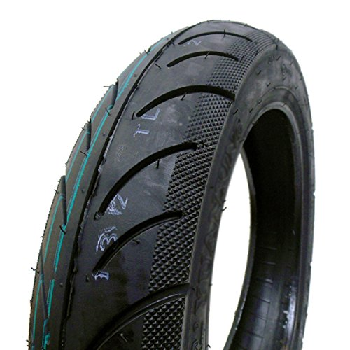 90/90-12 Tubeless Scooter Tire Front/Rear Street Tread 12'' Rim Fresh Rubber