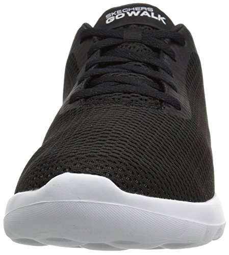 Nero Black Skechers Go Uomo Effort Max White Walk Sneaker vq1xw4Rq
