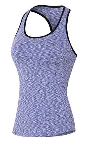 Compresión purple Dd nbsp;unidades De Para Mangas amp; Racerbacks Fit Dry 3 Gray Base Mujer Capa Tank green Camisas Sin Top Camis wqxrXxH
