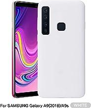 Idenmex Funda Case para Samsung A9 (2018) Protector Soft Jelly, Color Blanco