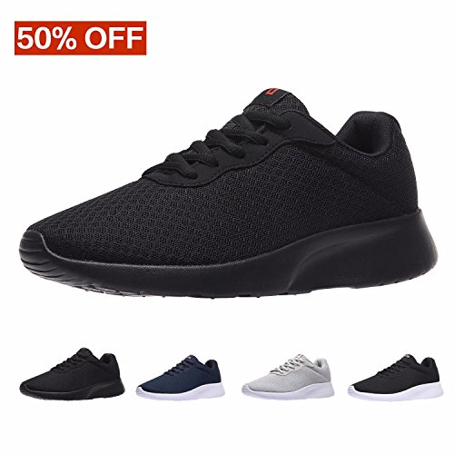 MAIITRIP Men's Running Shoes Sport Athletic Sneakers,Black,Size 10 Classic Performance Cross Trainer