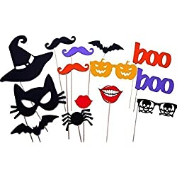 Halloween Masks, Halloween Photo Booth Props