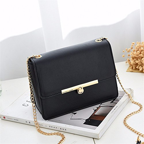 vacances MSZYZ à unique Cadeaux bandoulière verrou sac rotatif femme bandoulière de Black mini nouveau sac qpFES