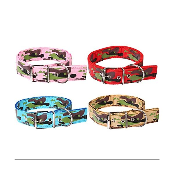 Legendog Camouflage Dog Collar Adjustable Nylon Dog Collar Cat Walking Collar Pet Supplies S Click on image for further info. 2