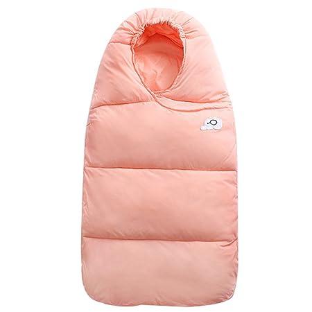 Saco de Dormir de Algod/ón Bebe Reci/én Nacidos Invierno Ajustable Swaddle Wrap Manta Unisex 2.5 TOG