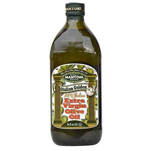 Mantova Italian - Mantova Extra Virgin Golden Italian Olive Oil, 68 Ounce (Pack of 2)