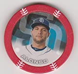 2014 Topps Poker Chipz RED Yonder Alonso San Diego Padres