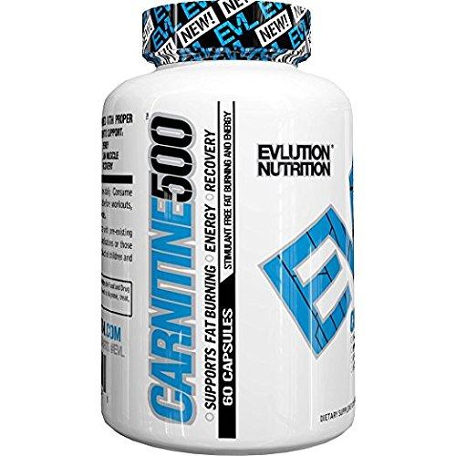 Evlution Nutrition Carnitine500 L Carnitine Serving