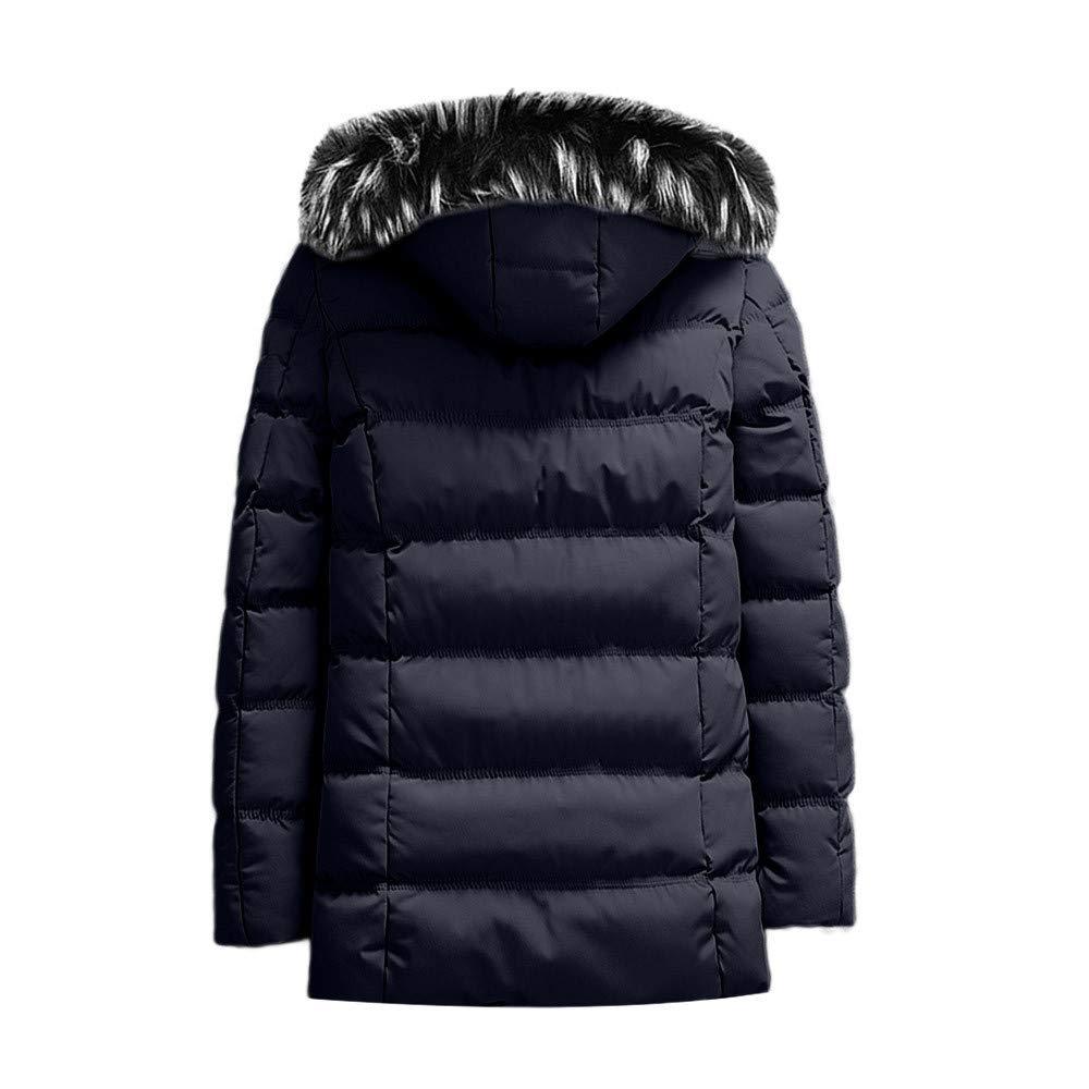 Abrigo de Bolsillo de Color Puro de otoño Invierno, un Sombrero para Hombre Abrigo con Cremallera y Chaqueta con Capucha de Internet: Amazon.es: Ropa y ...