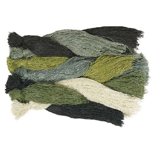 VooDoo Tactical Build Your Ghillie Suit Woodland Camo Yarn Kit, 1 Pound