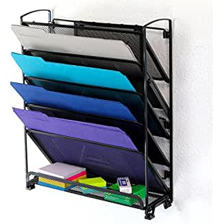 Wall File Organizer: How to Make Clutter Climb the Wall | Wall File Organizer | DIY Wall File Organizer | How to Organize Your Files | Office Organization