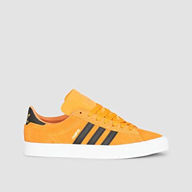 sports shoes 507ba 7e9ab adidas Campus Vulc 2 Kids Real Gold S18Core BlackFTWR White Kids 4uk