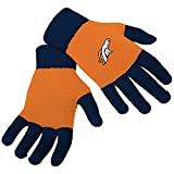 Womens Knit Texting Gloves - Denver Broncos