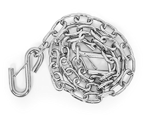 "Find Cheap Camco 50022 Safety Chains – Class I (2,000 lb Capacity)-48"" w/Spring Hooks"
