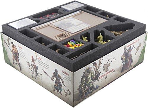 Feldherr Foam tray set for Zombicide: Green Horde core box