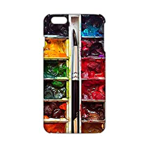 2015 Ultra Thin painting brush and pigment 3D Phone Case for iPhone 6 plus