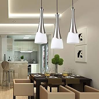 Comedor tres minimaliste Lámpara de comedor moderno table ...