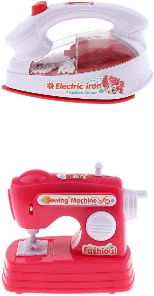 T TOOYFUL 2pcs / Set Mini Máquina De Coser Eléctrica + Juego De ...