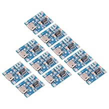 XCSOURCE 10pcs 1A 5V Micro USB TP4056 Lithium Battery Power Charger Board Module TE585