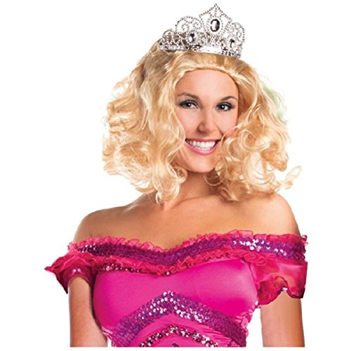 Redneck Pageant Princess Wig Costume Accessory Adult