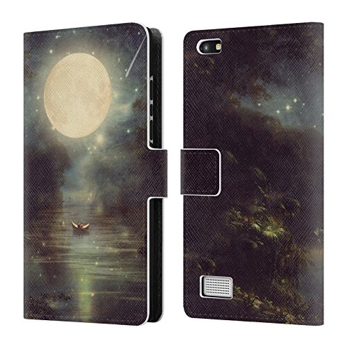 Official OnePlus Sky Star For Belle Romance Case Wallet A Book Wishing Case 5T Under On Cover Head Lake Leather Paula Love Moon Flores Designs ApEwUqHPx