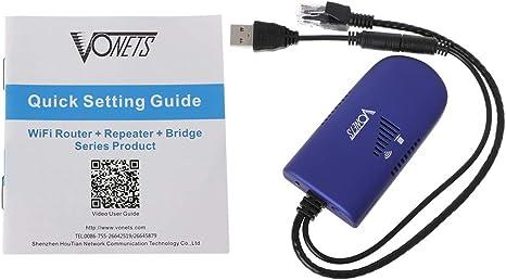 VONETS VAP11G-300 Mbps Repeater Wireless Wifi Bridge RJ45 USB2.0 Interface New