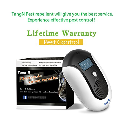 TangN Pest Repellent,Ultrasonic Pest Control Mouse Plug in,Indoor Outdoor Electronic Control Rodent,Mosquito,Insect,Roach,Spider,Ant,Rat And Flea,Safe Control NO Chemicals Ultrasonic Pest Repeller. by TangN (Image #6)