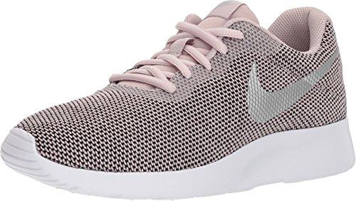 Nike Women's Tanjun Running Shoes (Particle Rose/Metallic Silver, 8 B(M) US) (Nike Fuelband Best Price)