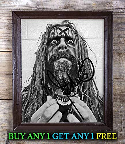 Rob Zombie Halloween Autographed Signed 8x10 Photo Reprint #88 Special Unique Gifts Ideas Him Her Best Friends Birthday Christmas Xmas Valentines Anniversary Fathers Mothers -